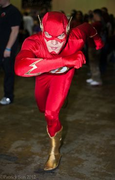 The Fastest Man Alive! Flash cosplay Wally West