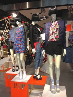 Pacific Life Styling at TOPSHOP Chapel st Melbourne