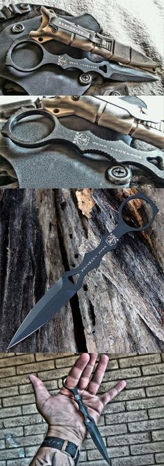 Benchmade - SOCP Dagger 176, Skelentonized Dagger Fixed Knife @thistookmymoney