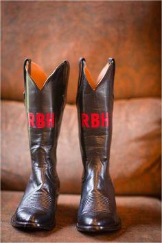 Bridal Cowboy Boots ~ Photo: Adam Nyholt