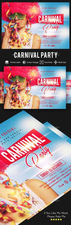Carnival #Flyer - Clubs & Parties Events