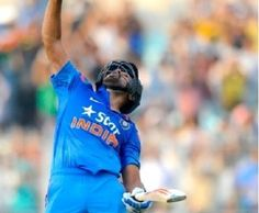 Rohit Sharma hits second double century in ODIs against Sri Lanka. He becomes highest individual run scorer in ODIs. Rohit scored 264 runs in 173 balls.