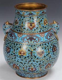 Lot 2106 – EARLY CHINESE BLUE CLOISONNE – California Estate Auction 17 Feb 2014http://www.the-saleroom.com