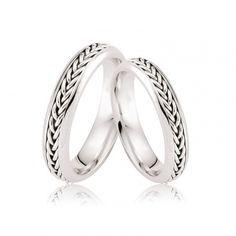 Verighete Cluny - Braid - Verighete Wedding Bands, Our Wedding, Wedding Stuff, Nautical Jewelry, Braids, Engagement Rings, Modern, Manual, Home