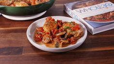 Whole 30 Chicken Cacciatore  There's no catch—this dinner is totally guilt-free.  Get the recipe from Delish.