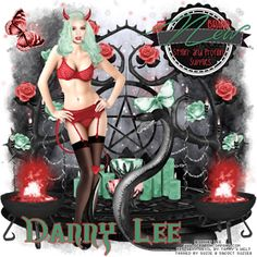 """AD CT.Team for S&Co. Store, New Match in Store Now. Tube """"Sexy Devil"""" by Danny Lee Kit """"Sexy Devil"""" by Tammy's Welt http://qtagsbysuzieq.blogspot.com/2015/11/ad-ctteam-for-s-store-new-match-in-store_3.html"""