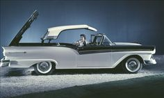 1957 Ford Skyliner Hardtop Convertible