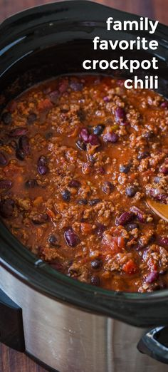 Slow Cooker Chili, Slow Cooker Recipes, Crockpot Recipes, Cooking Recipes, Beef Chili Recipe, Chili Recipes, Crockpot Beef Chili, Homemade Chili Seasoning, Crock Pot Cooking
