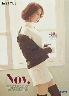 171026 'InStyle' magazine 2017 November Issue SNSD Yoona