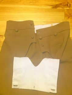 Tan Fall Front Trousers Completed How To