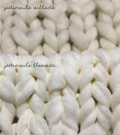 The Little Village: Jättineulepeitto nro 2 Merino Wool Blanket, Handicraft, Projects To Try, Homemade, Crafty, Knitting, Crochet, Inspiration, Craft