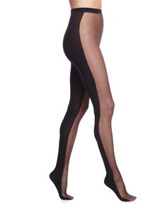 Abigail Tights with Opaque Back by Wolford at Neiman Marcus.