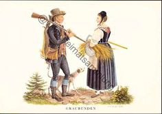 Graubünden Traditional Costumes