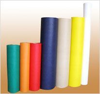 We provide Non woven fabrics in various color as per customer request. Our Colored non woven fabrics are very much admired for manufacturers and suppliers