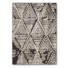 Raised Geometric Pattern,  Nate Berkus rug.