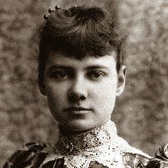 Nellie Bly was the pen name of American pioneer female journalist Elizabeth Jane Cochrane (1864-1922).
