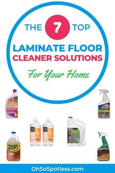 Try 7 of the best laminate floor cleaner solutions to revive your laminate floors and restore the shine. Cleaning Tile Floors, Cleaning Wood, Cleaning Materials, House Cleaning Tips, Diy Cleaning Products, Cleaning Solutions, Cleaning Hacks, Floor Cleaning, Best Laminate Floor Cleaner