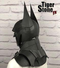 Batman Arkham Knight Suit, Batman Armor, Batman Suit, Destiny Cosplay, Cosplay Armor, Cosplay Diy, Batman Costumes, Batman Cosplay, Red Hood Costume