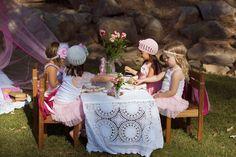 Vintage Princess Tea Party | CatchMyParty.com
