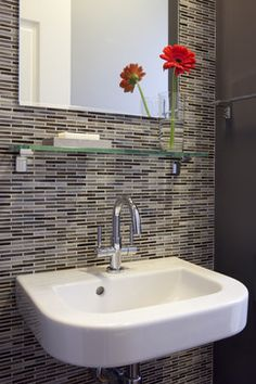 Bathroom Wall Tile Design Ideas, Pictures, Remodel, and Decor - page 13