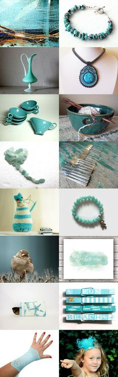I give you aqua. by Kat Selvaggio on Etsy - Pinned with TreasuryPin.com #aqua #aquagifts #turquoise #turquoisegifts #giftsforher #giftsforwomen #turquoisejewelry #turquoisebracelet #trendingjewelry #trendingbracelet #trendyjewelry #trendybracelet #southwestjewelry #southwestbracelet #NativeAmericanjewelry #NativeAmericanbracelet #bohojewelry #bohobracelet #artisanjewelry #artisanbracelet #stackingbracelet #beachjewelry #beachbracelet #jewelryfinds #braceletfinds #springjewelry #summerjewelry
