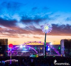 I'll meet you under the electric sky.