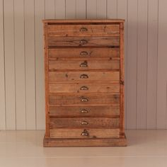 Brass drawer pulls on pine chest. For  similar ones click below: http://www.priorsrec.co.uk/rounded-brass-cast-drawer-pull-/p-3-15-16-28