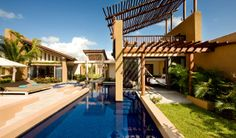 Who can say no to this? Amazing architectural design at the Private Spa Pool Villa.
