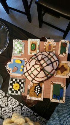 Sherlock / Clue theme cake