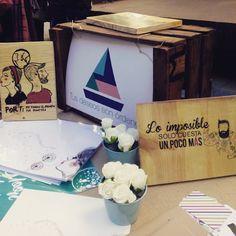 """Los productos de diseño y handmade de """"Tus Deseos son Ordenes"""" en el Mercado de las Armas #zaragoza"""