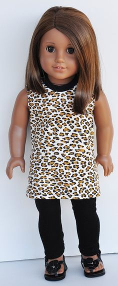American Girl Clothes Cheetah Print by LoriLizGirlsandDolls, $24.00