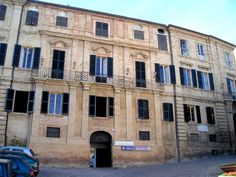 Giacomo Leopardi's house in Recanati.
