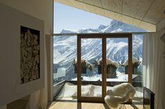 Verglasung #architecture #alps #chalet #apartment #hotel Architekt: HolzBox Tirol, Foto: Gerda Eichholzer Box, Windows, Design, Photos, Apartments, Homes, Window, Boxes