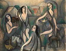 Marie Laurencin - cubism from a woman's pov