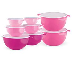 Get Double the Bowls & Double the Awesome with the Pink Tupperware BOGO Free Deal Ooohohohh!