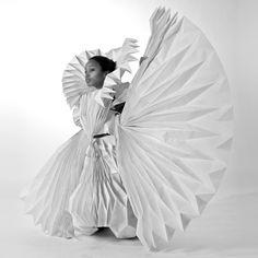 Ecstatic Spaces by  Tara Keens Douglas- from Dezeen -#folding #fashion