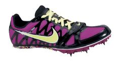 competitive price 7a79e 37aa9 Nike Zoom Rival S 6 Women s Track Spike. I have no use for track shoes but  these are so cute!