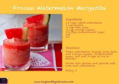 Frozen Watermelon Margarita Recipe