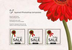 Summer Sale Instagram Pack by Gina Heyer  on @creativemarket