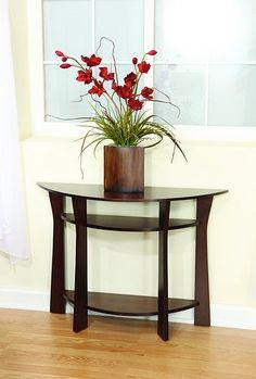 Example of foyer table 1 Foyer, Entryway Tables, Entry Way Design, Solid Wood Furniture, End Tables, Occasional Tables, Oak Tree, Cool Diy, Home Furnishings