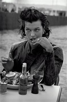 milla jovovich peter lindenberg - Google Search