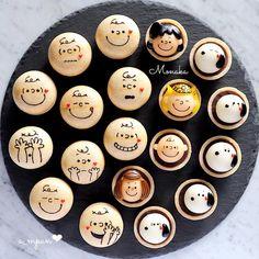 Japanese Treats, Cute Donuts, Kawaii Dessert, Doughnut Cake, Cute Desserts, Food Drawing, Latte Art, Food Humor, Cake Tutorial