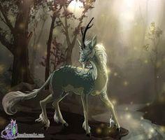 use your illusion. Mythical Creatures Art, Mythological Creatures, Magical Creatures, Fantasy Creatures, Fantasy World, Fantasy Art, Dragons, The Embrace, Unicorn Art
