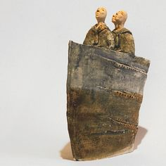 three seamen, Ceramic sculpture, Ceramic, Art, Figurine, Clay by arekszwed on Etsy