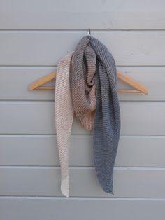 coton et gourmandises: Le châle cosy trendy de Caro Tricote