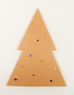 Oh Christmas Tree, Oh Christmas Tree! Twinkling with Colour. Studs available from Hanne Andersen Jewellery