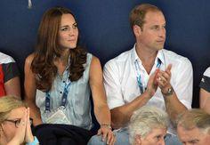 Le duc et la duchesse aux premières loges des jeux du Commonwealth