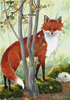 Fox orginal painting