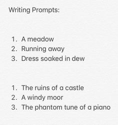 Writing prompts-three things to include in a scene books & fanfiction т Poetry Prompts, Daily Writing Prompts, Book Writing Tips, Creative Writing Prompts, Writing Challenge, Writing Poetry, Writing Resources, Writing Help, Writing Ideas