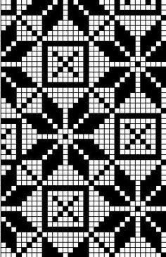 Pühalepa mitten pattern, Estonia